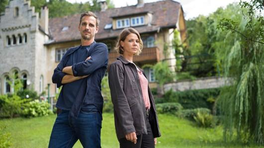 Konrad Diener (Max von Thun) und Maris Bächle (Jessica Schwarz).