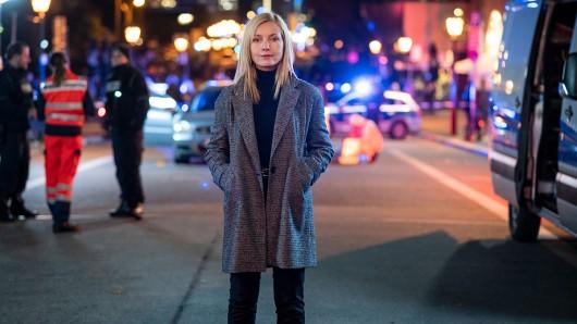 Nadja Uhl als Staatsanwältin Judith Schrader.