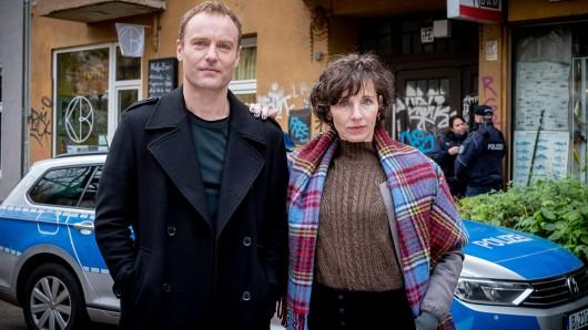 Die Berliner Tatort-Kommissare: Nina Rubin (Meret Becker) und Robert Karow (Mark Waschke).