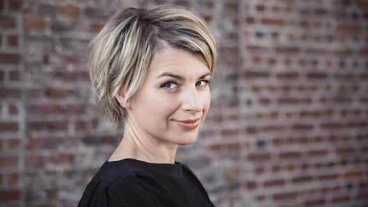 Sabine Heinrich moderiert die neue ZDF-Show Das große Deutschland-Quiz - Das Spiel für unser Land