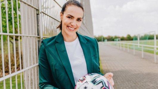 Esther Sedlaczek wird die Sportschau im Ersten moderieren.