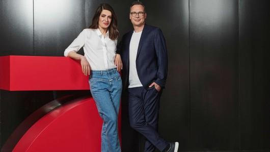 Linda Zervakis und Matthias Opdenhövel.