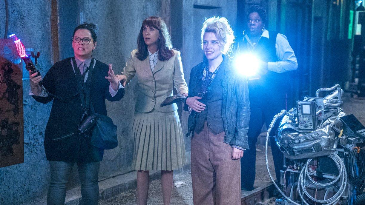 Auf Geisterhatz: Melissa McCarthy, Kristen Wiig, Kate McKinnon und Leslie Jones (v.l.).