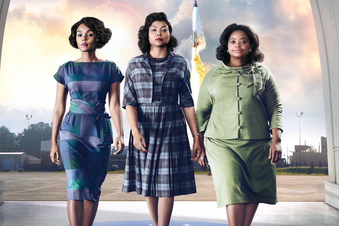 Die Hidden Figures-Heldinnen Mary Jackson (Janelle Monáe, l.), Katherine G. Johnson (Taraji P. Henson) und Dorothy Vaughan (Octavia Spencer, r.)