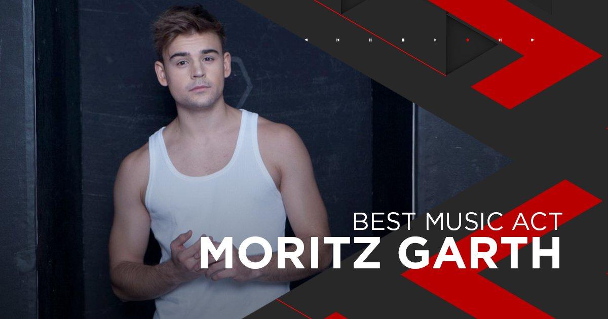 Nominiert als Best Music Act: Moritz Garth