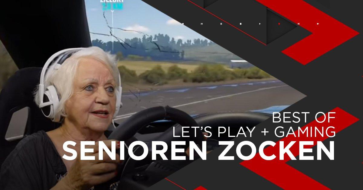 Nominiert für Lets's play + Gaming: Senioren Zocken
