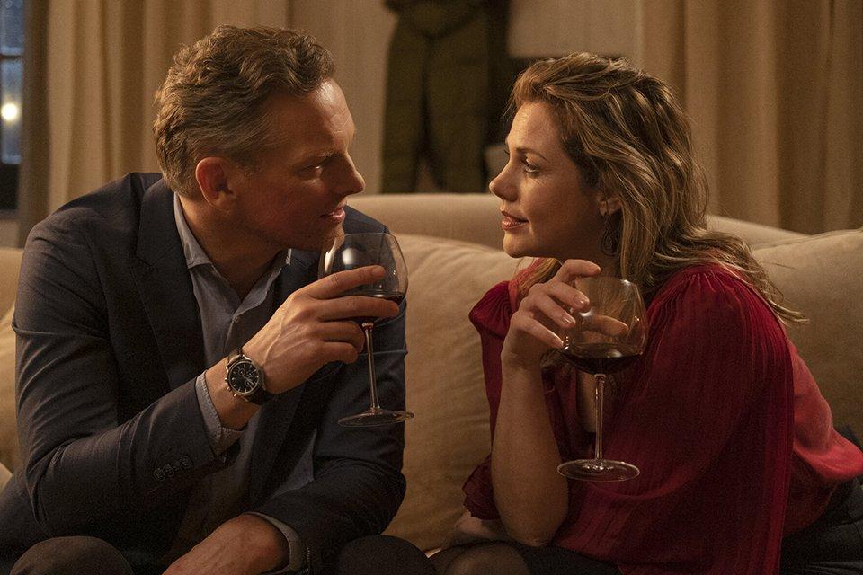 Das erste Date von Laura (Felicitas Woll) und Hendrik (Barry Atsma) verläuft zunächst harmonisch