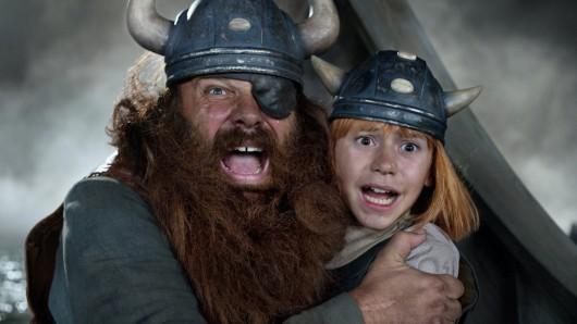 Schockschwerenot: Nach zwei Realverfilmungen sollen Wickie und die starken Männer in Serie gehen.