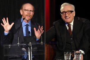 Sie gehören zu den Besten ihres Fachs: die Regisseure Ron Howard (l.) und Martin Scorsese