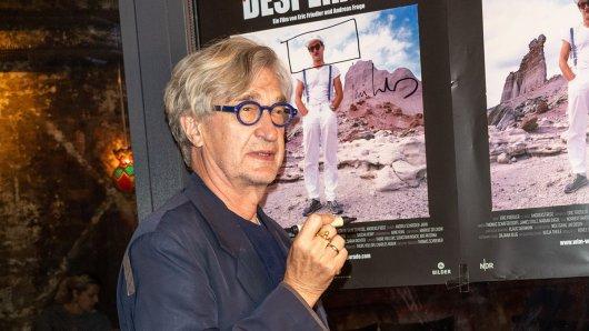 Wim Wenders bei der Hamburg-Premiere des Films Desperado.