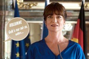 """Natalia Wörner ist die """"Diplomatin"""" im Ersten."""