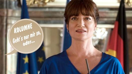 Natalia Wörner ist die Diplomatin im Ersten.