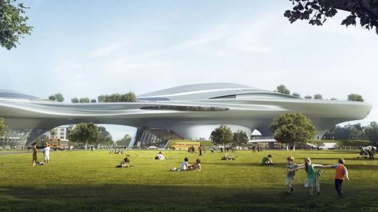 So wird das George-Lucas-Museum aussehen