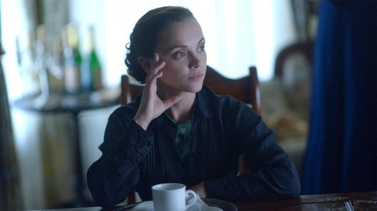 Christina Ricci in Lizzie Borden nahm 'ne Axt