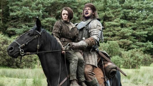 Ed Sheeran wird in Games of Thrones in einer Szene zusammen mit Arya Stark (Maisie Williams) auftreten.