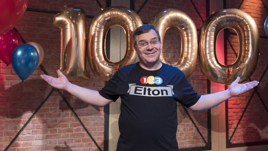 Großen Jubiläumsshow mit Elton.