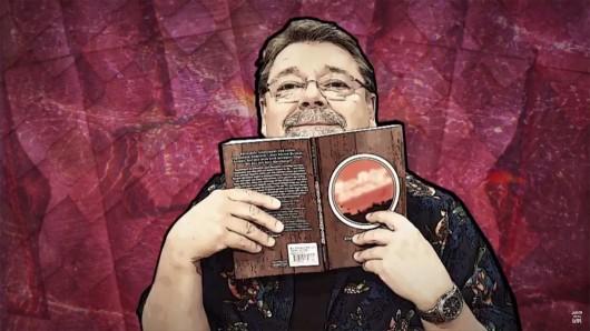 Jürgen von der Lippe präsentiert komische Bücher mit seiner Show Lippes Leselust auf YouTube.