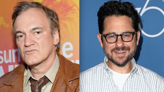 Demnächst Partner in Star Trek-Crime: Kultregisseur Quentin Tarantino (54) und Kultproduzent J.J. Abrams (52)