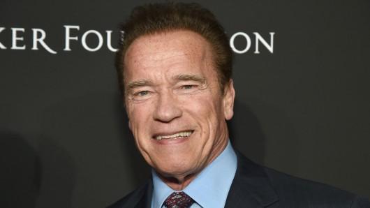 Mit 70 zum Serienstar? Arnold Schwarzenegger ist für die Amazon-Westernserie Outrider im Gespräch.