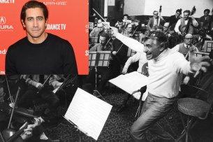 """Jake Gyllenhaal (37) wird im Biopic """"The American"""" den Taktstock des 1991 verstorbenen Star-Dirigenten Leonard Bernstein übernehmen."""