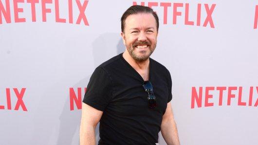 Best Buddies: Das Serienprojekt After Life ist bereits die fünfte Zusammenarbeit zwischen Netflix und Brit-Komiker Ricky Gervais (56).