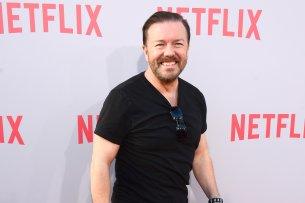 """Best Buddies: Das Serienprojekt """"After Life"""" ist bereits die fünfte Zusammenarbeit zwischen Netflix und Brit-Komiker Ricky Gervais (56)."""