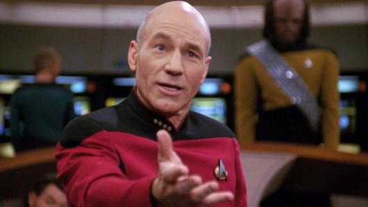 Captain Jean-Luc Picard zurück auf die Brücke der Enterprise? Gerüchten zufolge ist eine neue Star Trek-Serie mit Patrick Stewart in Planung.