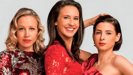 Die verbliebenen drei Original-Vorstadtweiber in Staffel 4: Nina Proll als Nico, Maria Köstlinger als Walli und Martina Ebm als Caro (v.l.n.r.)