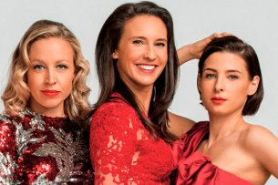 """Die verbliebenen drei Original-""""Vorstadtweiber"""" in Staffel 4: Nina Proll als Nico, Maria Köstlinger als Walli und Martina Ebm als Caro (v.l.n.r.)"""