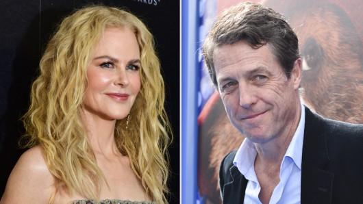 Bald Mann und Frau: In der neuen HBO-Miniserie The Undoing werden die GOLDENE KAMERA-Preisträger Nicole Kidman und Hugh Grant als Ehepaar gemeinsam vor der Kamera stehen.