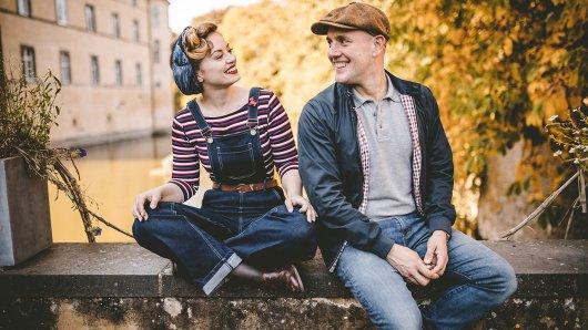 Ab Mitte März mit der neuen Trödelsendung Hallo Schatz am Start: Victoria Beyer und Oli.P