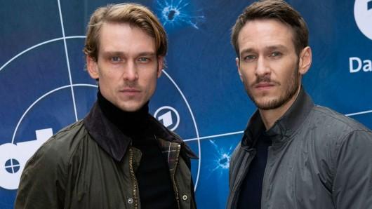 Das neue Ermittlerteam des SR: Daniel Sträßer (l.) und Vladimir Burlakov (r.)