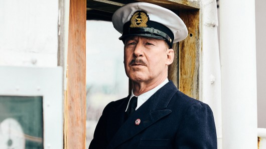 Ulrich Noethen als Kapitän Gustav Schröder im Doku-Drama Die Irrfahrt der St. Louis