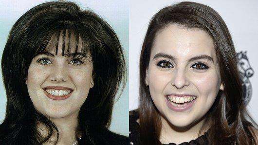 In der 3. American Crime Story-Staffel Impeachment wird Newcomerin Beanie Feldstein (r.) die Rolle von Bill Clintons Sex-Praktikantin Monica Lewinsky übernehmen.