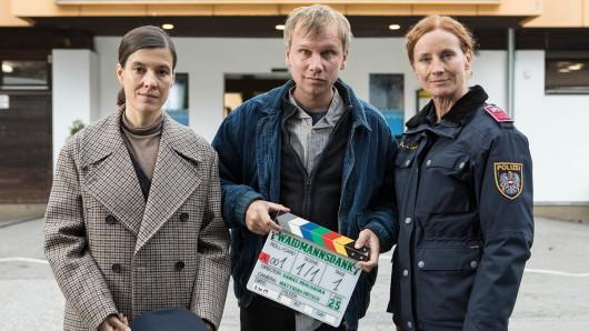 Oberinspektorin Acham (Pia Hierzegger), Hannes Guggenbauer jun. (Robert Stadlober), Martina Schober (Jutta Fastian)