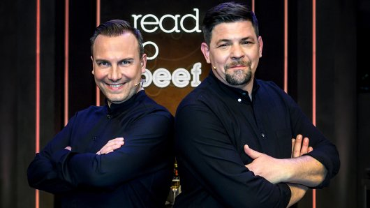 Ready to beef: Juror Tim Raue (l.) und Gastgeber Tim Mälzer.