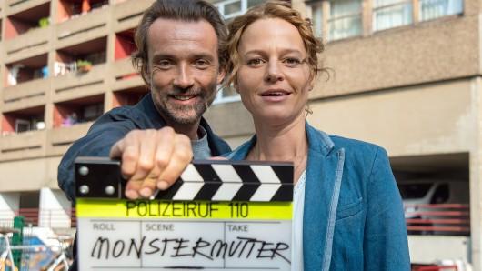 Kriminalhauptkommissarin Olga Lenski (Maria Simon) und Kriminalhauptkommissar Adam Raczek (Lucas Gregorowicz).