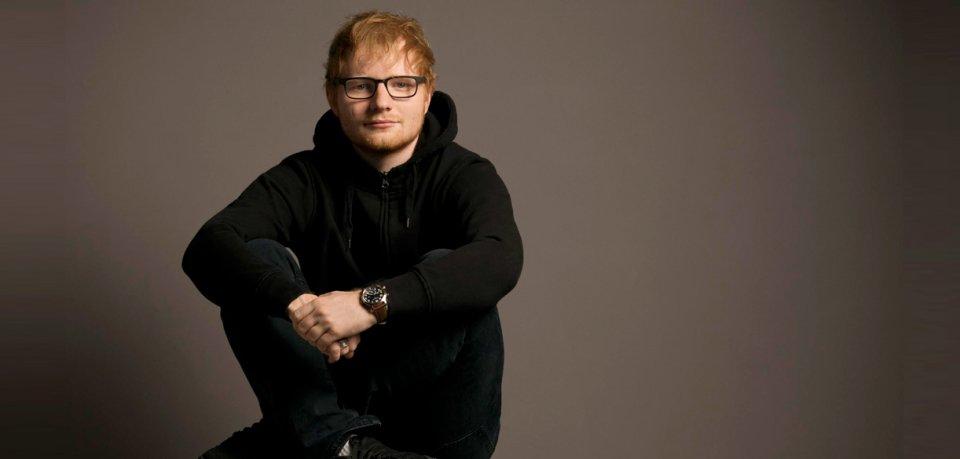 Preisträger in der Kategorie Beste Musik International: Ed Sheeran