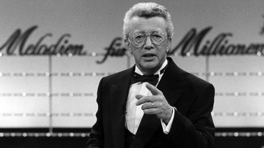 Musik war seine Leidenschaft: Dieter Thomas Heck als Moderator von Melodien für Millionen