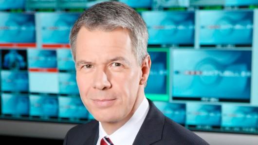Peter Kloeppel  (RTL Aktuell) landet mit 43 % Zustimmung in Sachen Glaubwürdigkeit auf Platz 2.