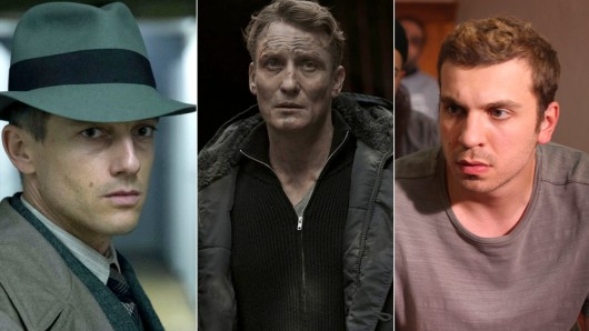Volker Bruch (l.), Oliver Masucci (M.) und Edin Hasanovic sind nominiert als Beste deutsche Schauspieler.