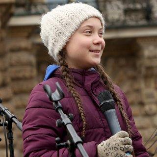 Der Sonderpreis der GOLDENEN KAMERA 2019 geht an Greta Thunberg (16).