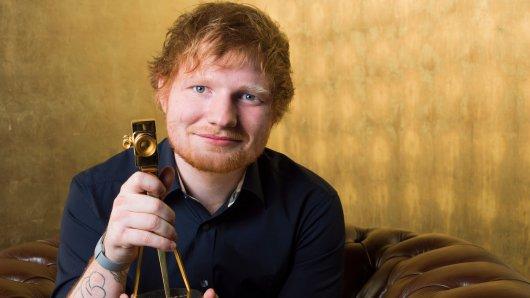 GOLDENE KAMERA-Preisträger 2017 in der Kategorie Beste Musik International: Ed Sheeran (26)