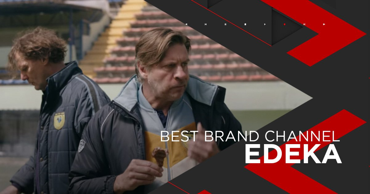 Nominiert als Best Brand Channel: Edeka