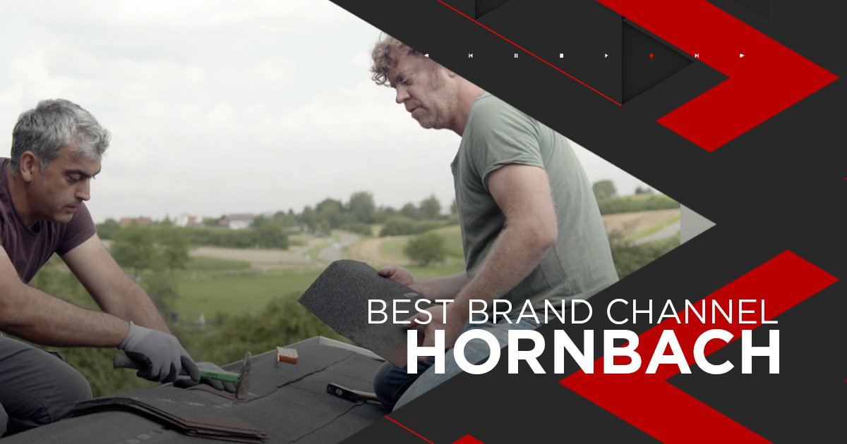 Nominiert als Best Brand Channel: Hornbach