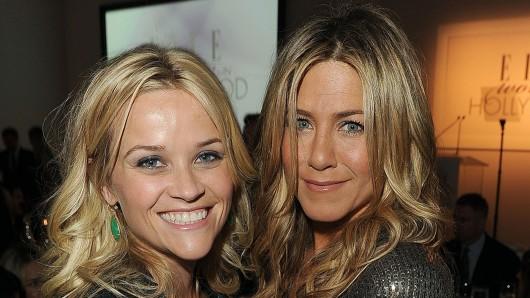 Bald auch als Serienstars vereint: Reese Witherspoon (41, l.) und Jennifer Aniston (48)
