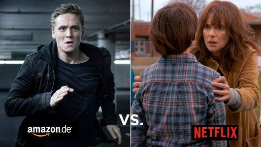Amazon vs. Netflix: Bei welchem Streamingdienst Film- und Serienfans auf ihre Kosten kommen