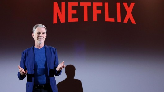 Netflix-Boss Reed Hastings.