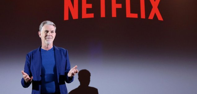Netflix-Boss Reed Hastings.