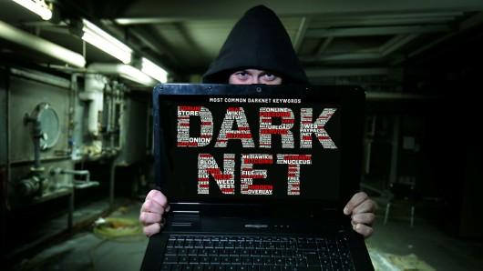 Illustration vom Darknet